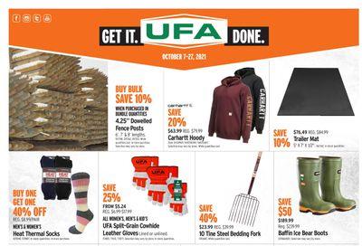 UFA United Farmers of Alberta Flyer October 7 to 27