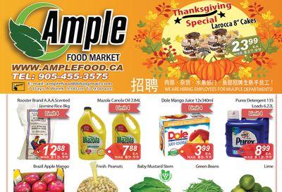 Ample Food Market (Brampton) Flyer October 8 to 14