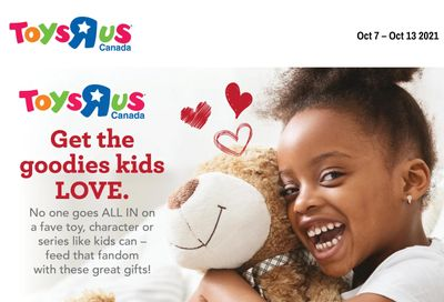 Toys R Us Flyer October 7 to 13