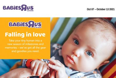 Babies R Us Flyer October 7 to 13