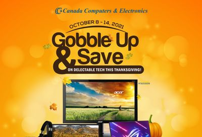 Canada Computers Flyer October 8 to 14
