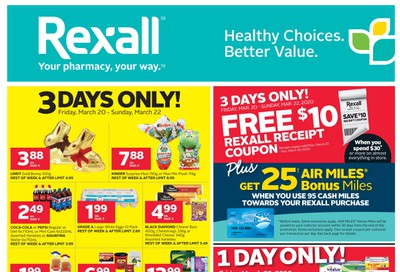 Rexall (ON) Flyer March 20 to 26