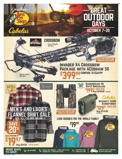 Cabela's Weekly Ad Flyer October 10 to October 17