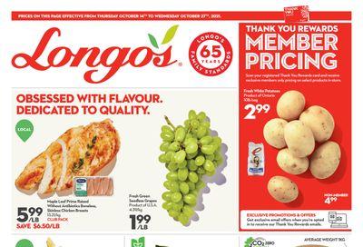 Longo's Flyer October 14 to 27