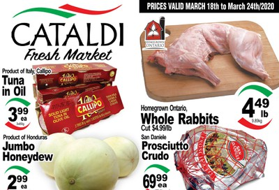 Cataldi Fresh Market Flyer March 18 to 24