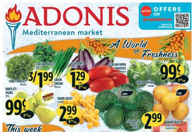 Adonis (ON) Flyer October 14 to 20