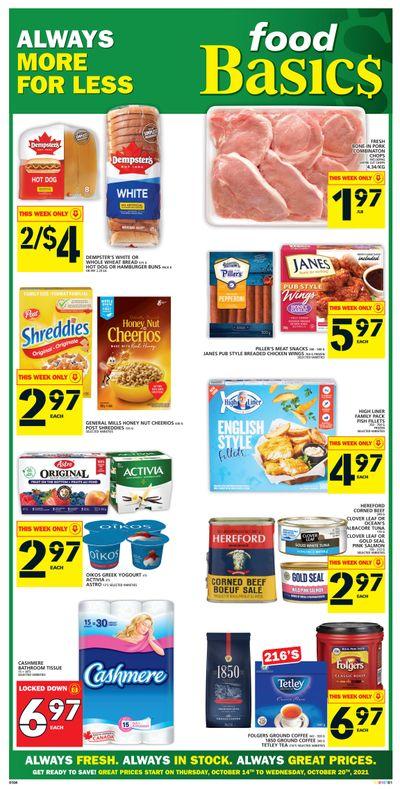 Food Basics Flyer October 14 to 20
