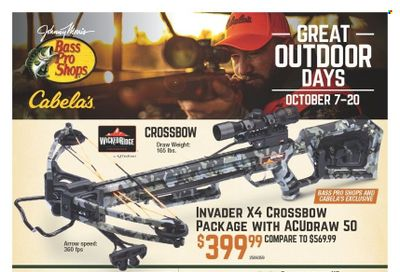 Bass Pro Shops Weekly Ad Flyer October 13 to October 20