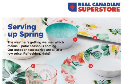 Real Canadian Superstore (ON) Spring Book March 12 to April 12