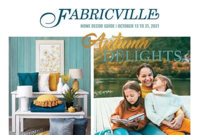 Fabricville Home Decor Guide October 13 to 31