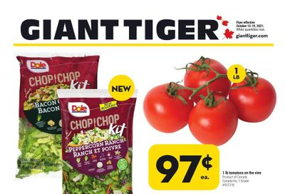 Giant Tiger (Atlantic) Flyer October 13 to 19