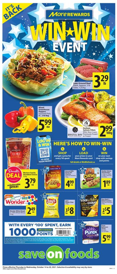 Save on Foods (BC) Flyer October 14 to 20