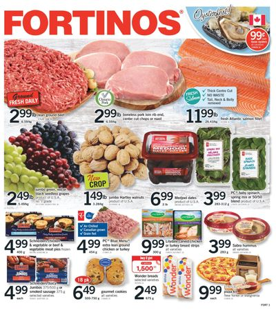 Fortinos Flyer October 14 to 20