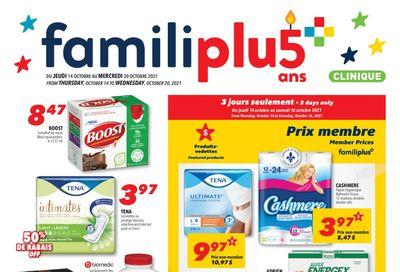 Familiprix Clinique Flyer October 14 to 20