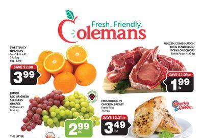 Coleman's Flyer October 14 to 20