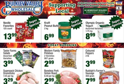 Bulkley Valley Wholesale Flyer October 14 to 20