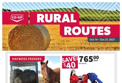 Co-op (West) Rural Routes Flyer October 14 to 27
