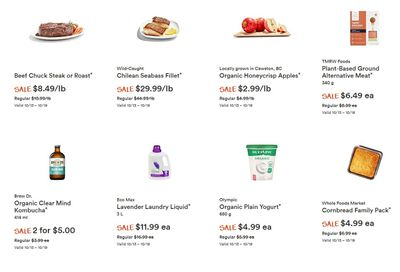Whole Foods Market (West) Flyer October 13 to 19