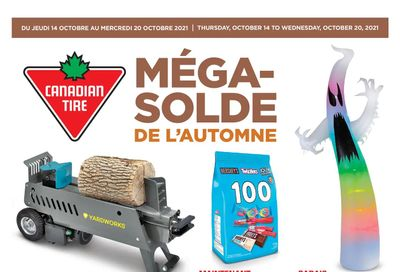 Canadian Tire (QC) Flyer October 14 to 20
