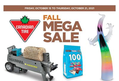 Canadian Tire (West) Flyer October 15 to 21