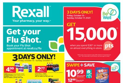 Rexall (AB) Flyer October 15 to 21
