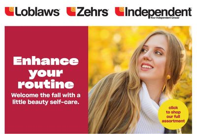 Loblaws (ON) Beauty Flyer October 14 to November 10
