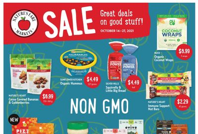 Nature's Fare Markets Flyer October 14 to 27