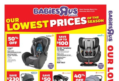 Babies R Us Flyer March 19 to 25
