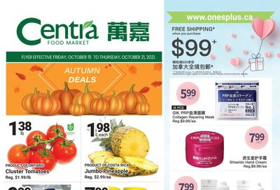 Centra Foods (North York) Flyer October 15 to 21