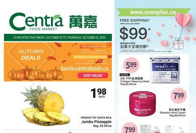 Centra Foods (Barrie) Flyer October 15 to 21
