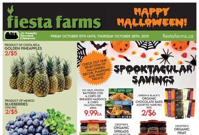 Fiesta Farms Flyer October 15 to 28