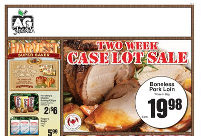 AG Foods Flyer October 15 to 28