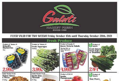 Galati Market Fresh Flyer October 15 to 28