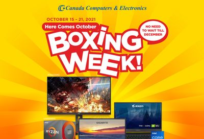 Canada Computers Flyer October 15 to 21