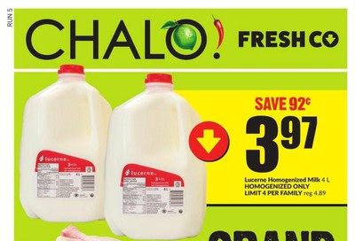 Chalo! FreshCo (West) Flyer March 19 to 25