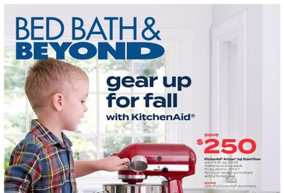 Bed, Bath & Beyond Flyer October 18 to 31