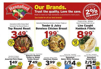 Hannaford (NH) Weekly Ad Flyer October 18 to October 25