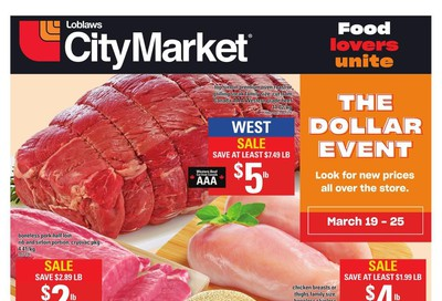 Loblaws City Market (West) Flyer March 19 to 25
