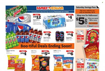 Family Dollar Weekly Ad Flyer October 19 to October 26
