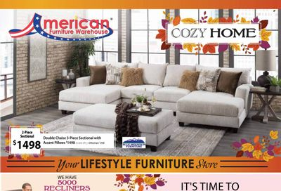 American Furniture Warehouse (AZ, CO, TX) Weekly Ad Flyer October 19 to October 26