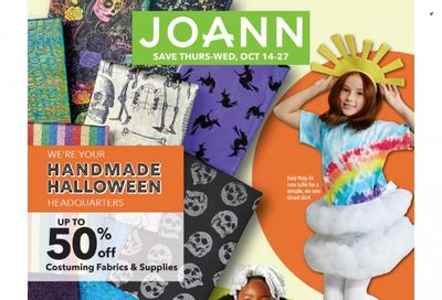 JOANN Weekly Ad Flyer October 19 to October 26