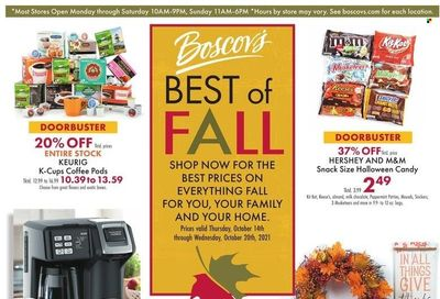 Boscov's (CT, DE, MD, NJ, NY, PA) Weekly Ad Flyer October 19 to October 26