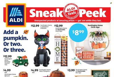ALDI (KY, MI, MN, NJ, NY, OH, PA, VT, WV) Weekly Ad Flyer October 19 to October 26