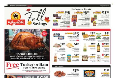 ShopRite (CT, DE, MD, NJ, NY, PA) Weekly Ad Flyer October 19 to October 26