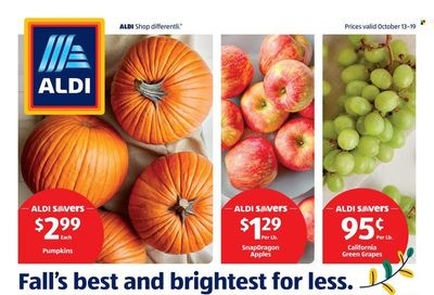 ALDI (IL, NY, OH, PA, TN, WV) Weekly Ad Flyer October 19 to October 26