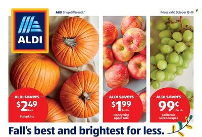 ALDI (AR, KS, MO, OH, OK) Weekly Ad Flyer October 19 to October 26