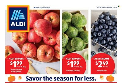 ALDI (NJ, PA) Weekly Ad Flyer October 19 to October 26
