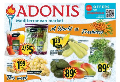 Adonis (ON) Flyer October 21 to 27