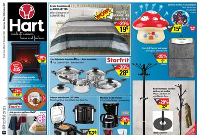 Hart Stores Flyer October 20 to 26