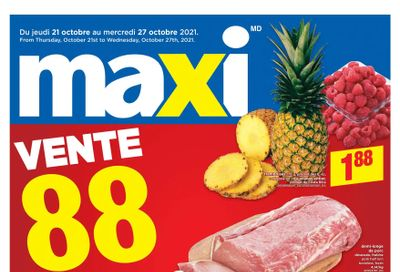 Maxi & Cie Flyer October 21 to 27